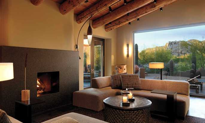 Boulders Resort & Spa, Curio Collection by Hilton Hotel, USA  - Villa Retreat Couches
