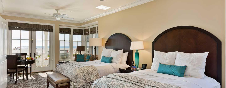 Beach Village at The Del, Curio Collection by Hilton Hotel, Kalifornien, USA– Ferienhauszimmer am Strand