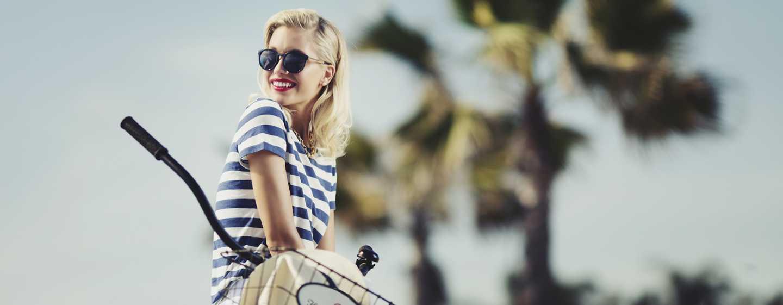 Beach Village at The Del, Curio Collection by Hilton Hotel, Kalifornien, USA– Fahrradverleih