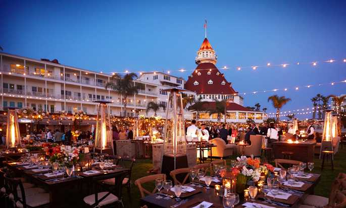 Hôtel Beach Village at The Del, Curio Collection by Hilton, Californie, États-Unis -