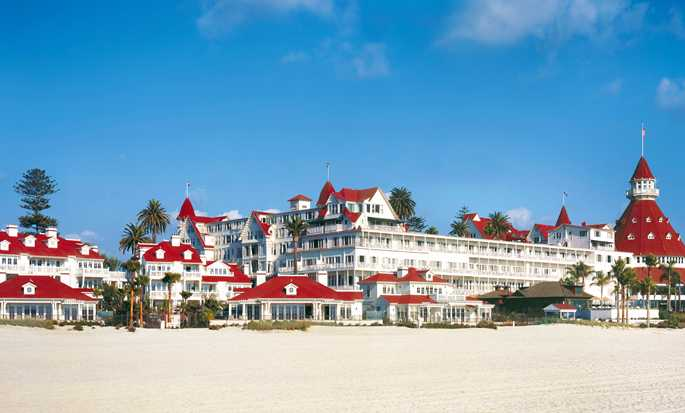Hotel del Coronado, Curio Collection by Hilton, California, EE. UU. - Fachada del hotel