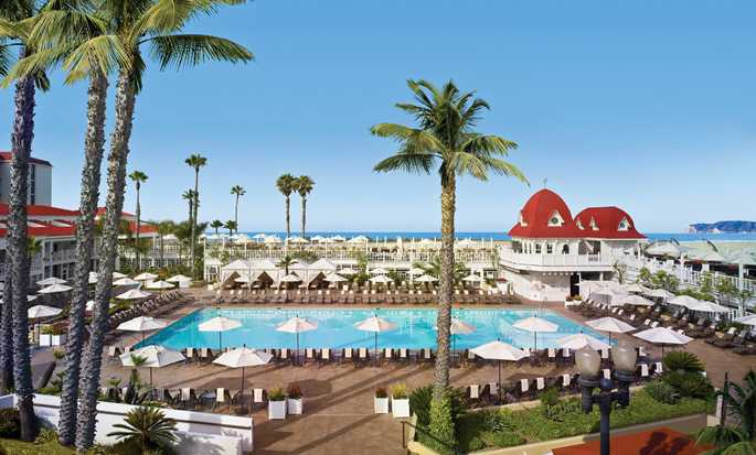 Hotel del Coronado, Curio Collection by Hilton, California, EE. UU. - Piscina principal