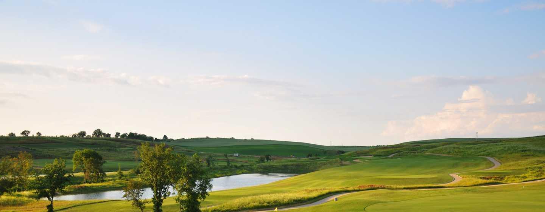 Hôtel La Bagnaia Golf & Spa Resort Siena, Curio Collection by Hilton, Italie - Parcours de golf primé de 18trous