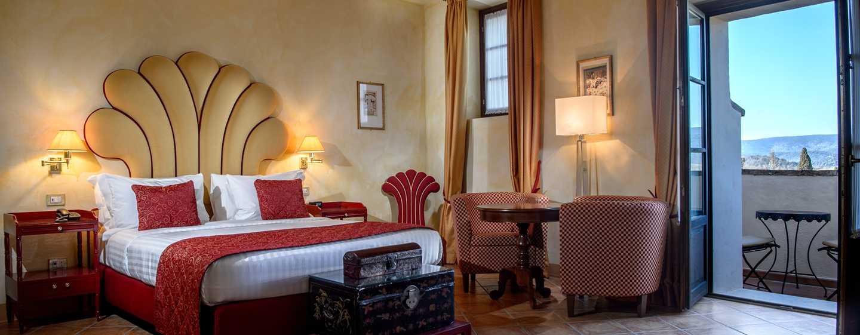 La Bagnaia Golf &Spa Resort Siena, Curio Collection by Hilton, Italien– Junior Suite al Borgo Bagnaia