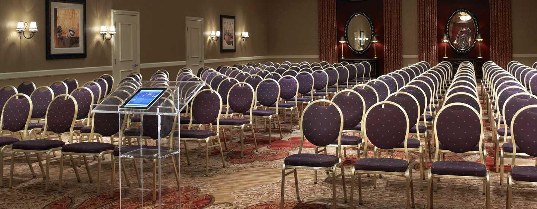 Juniper Hotel Cupertino, Curio Collection by Hilton, Kalifornien, USA– Cali Ballsaal mit Theaterbestuhlung