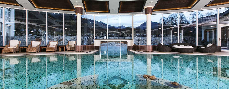 Hôtel Grand Tirolia Hotel Kitzbuhel, Curio Collection by Hilton, Autriche - Piscine du spa