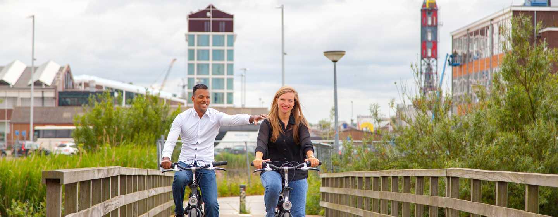 DoubleTree by Hilton Hotel Amsterdam - NDSM Wharf, NL - Fietstocht