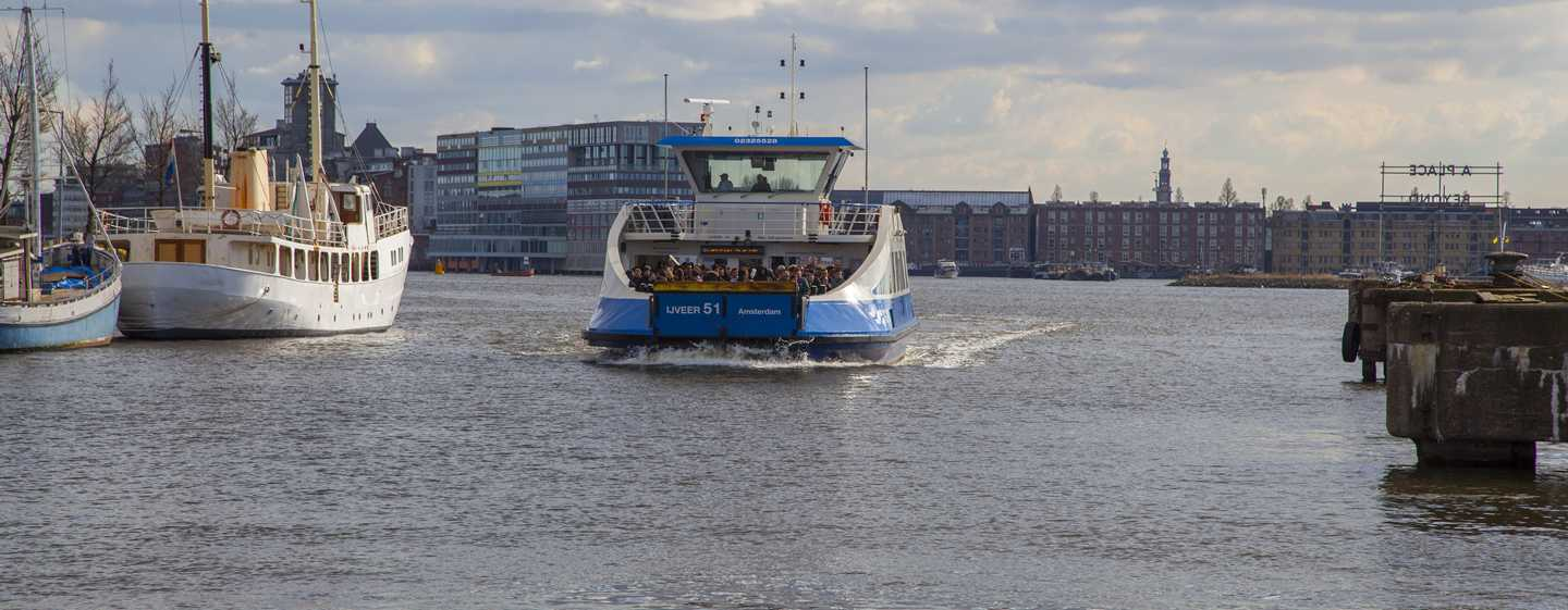 DoubleTree by Hilton Hotel Amsterdam - NDSM Wharf, NL - Veerbootovertocht