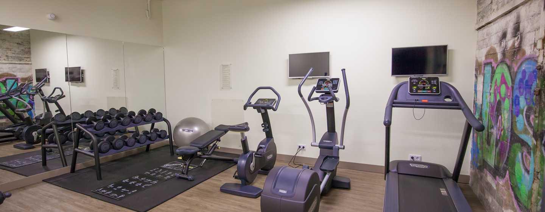 DoubleTree by Hilton Hotel Amsterdam - NDSM Wharf, NL - Kosteloos 24-uurs fitnesscentrum