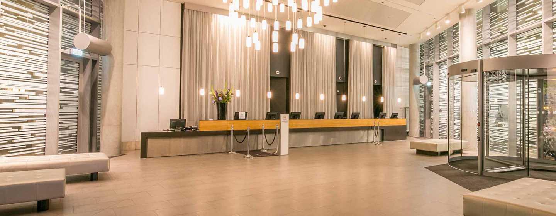 DoubleTree by Hilton Hotel Amsterdam Centraal Station, Nederland - De lobby