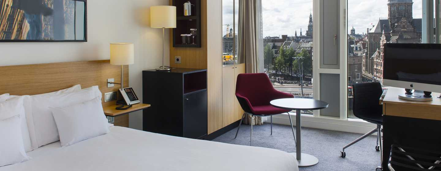 DoubleTree by Hilton Hotel Amsterdam Centraal Station, Nederland - Queen superior kamer