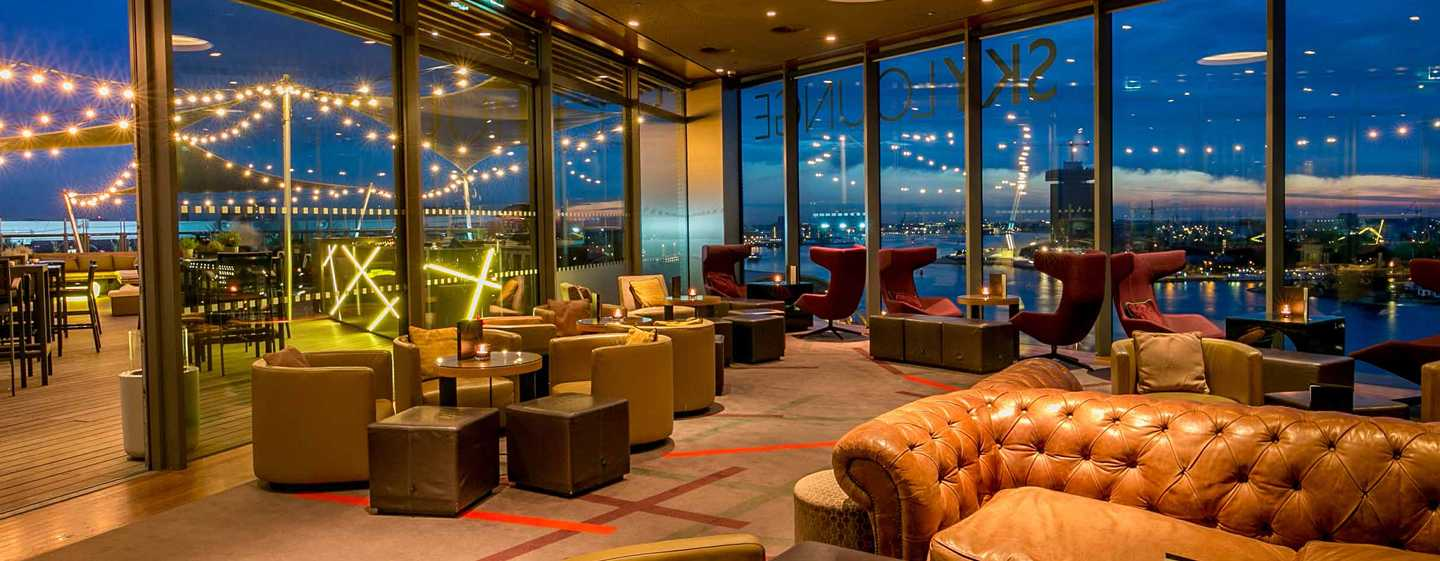 DoubleTree by Hilton Hotel Amsterdam Centraal Station, Nederland - SkyLounge Amsterdam
