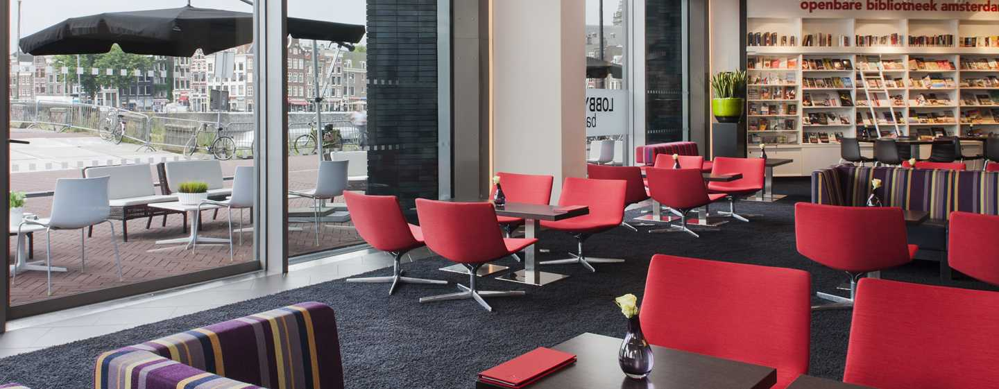 DoubleTree by Hilton Hotel Amsterdam Centraal Station - Lobbybar