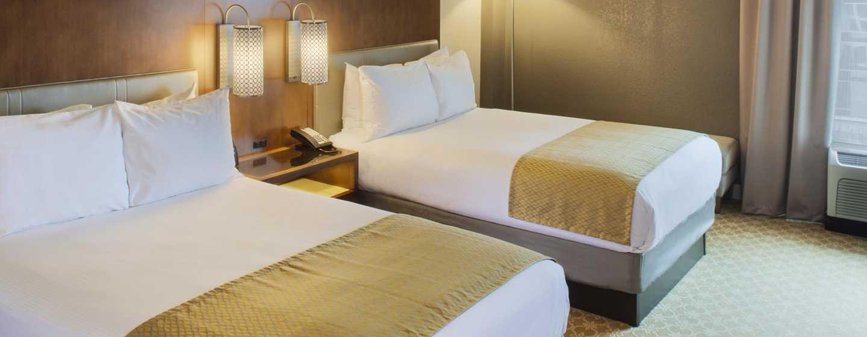 DoubleTree by Hilton Hotel Atlanta-Buckhead – zwei Doppelbetten