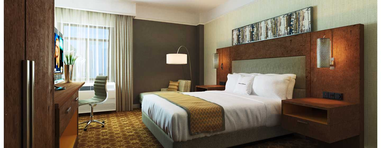 DoubleTree by Hilton Hotel Atlanta-Buckhead – Zimmer mit King-Size-Bett