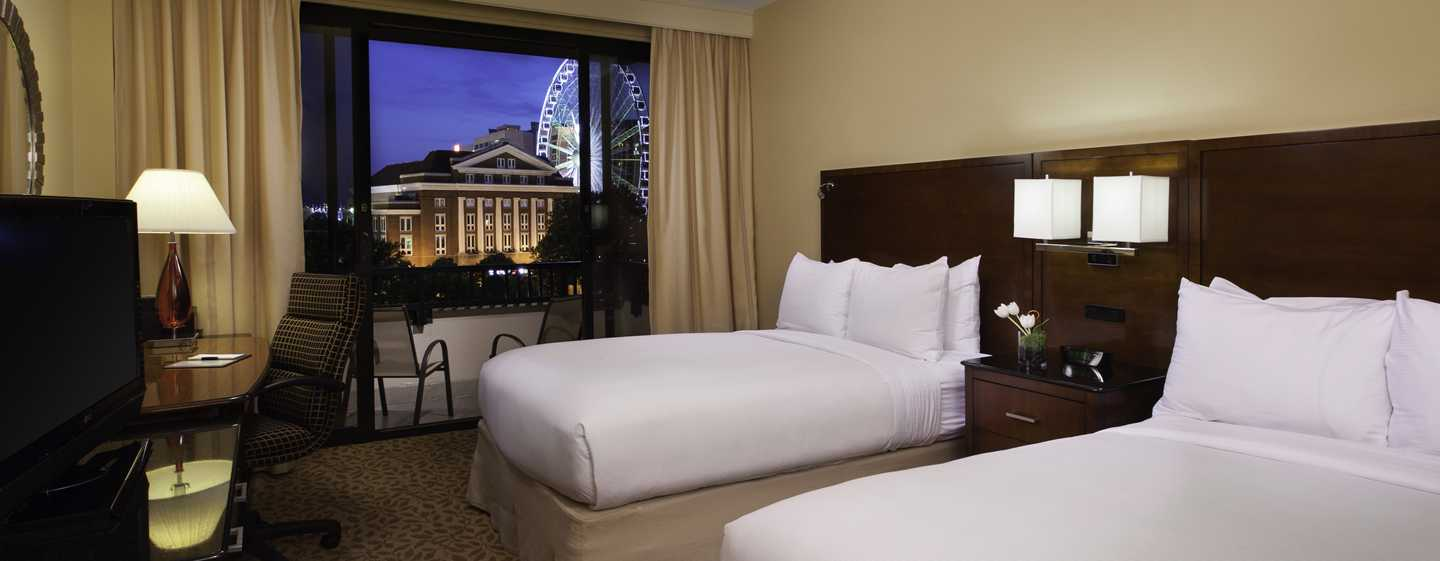 DoubleTree by Hilton Hotel Atlanta Downtown, USA – Standard Zimmer