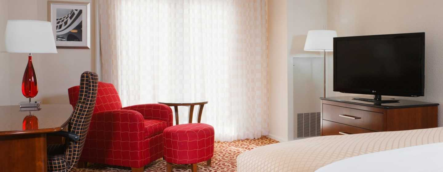 DoubleTree by Hilton Hotel Atlanta Downtown, USA – Zimmer mit King-Size-Bett