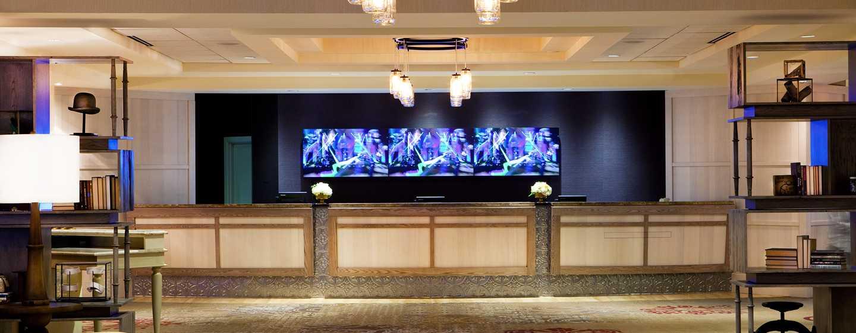 DoubleTree by Hilton Hotel Nashville Downtown, TN, USA – Resepsjonsområde