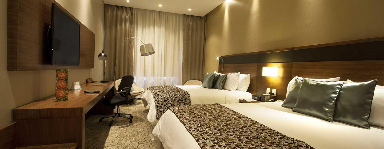 Hotel DoubleTree by Hilton Bogotá - Parque 93, Colombia - Habitación con dos camas Queen