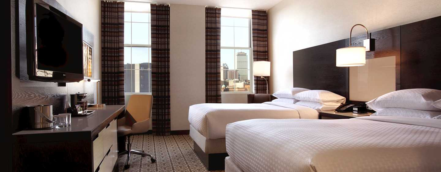 DoubleTree by Hilton Hotel Boston – Downtown, USA – Doppelzimmer mit Stadtblick