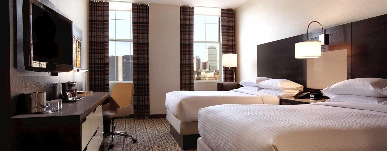 DoubleTree by Hilton Hotel Boston – Downtown, USA – Doppelzimmer mit Stadtblick