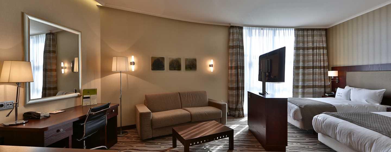 DoubleTree by Hilton Hotel Bratislava, Slovensko – Dvoulůžkový pokoj Deluxe