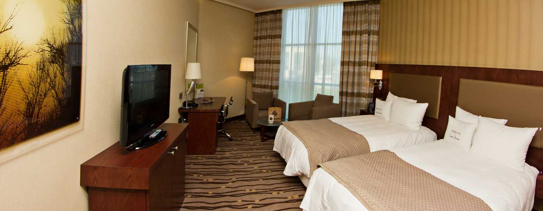 DoubleTree by Hilton Hotel Bratislava, Slovensko – dvoulůžkový pokoj