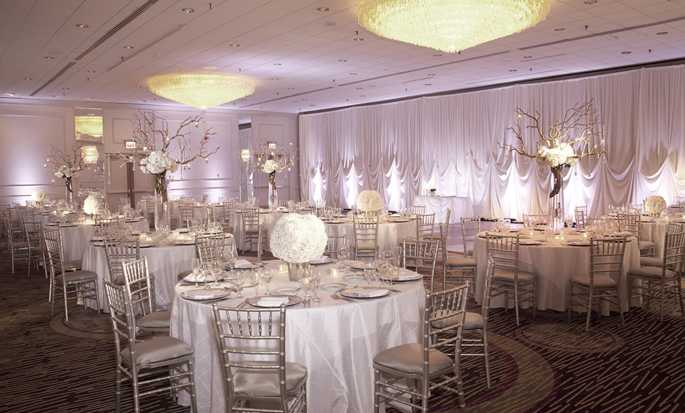 Doubletree Hotel Chicago Magnificent Mile, USA - Wedding Banquet Set up