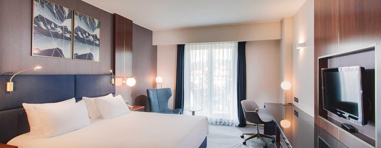 Hotelul DoubleTree by Hilton Cluj – City Plaza, Cluj, România – Cameră cu pat King