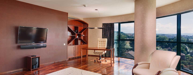 Hotelul DoubleTree by Hilton Cluj – City Plaza, Cluj, România – Apartamentul prezidențial