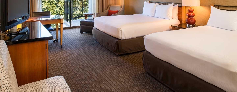 Hôtel DoubleTree by Hilton Hotel Seattle Airport, États-Unis - Chambre avec lit double
