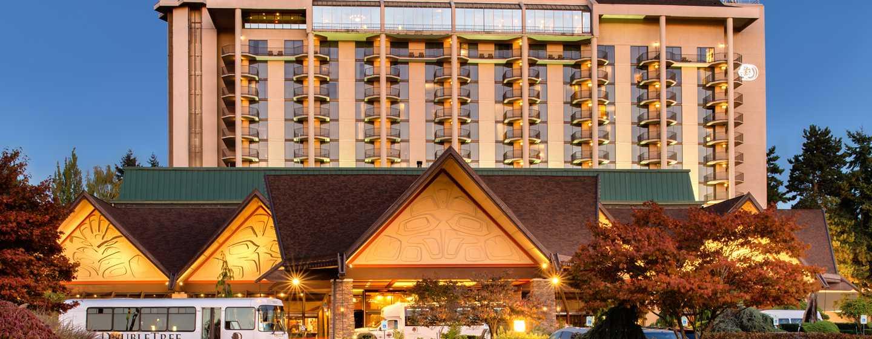 Hôtel DoubleTree by Hilton Hotel Seattle Airport, États-Unis - Extérieur de l'hôtel DoubleTree by Hilton Hotel Seattle Airport