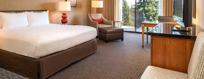 Hôtel DoubleTree by Hilton Hotel Seattle Airport, États-Unis - Chambre avec très grand lit