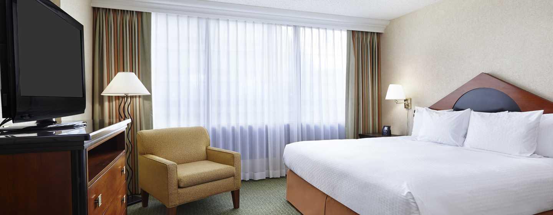 DoubleTree by Hilton Hotel Washington DC – Crystal City, VA – Schlafzimmer der Junior Suite