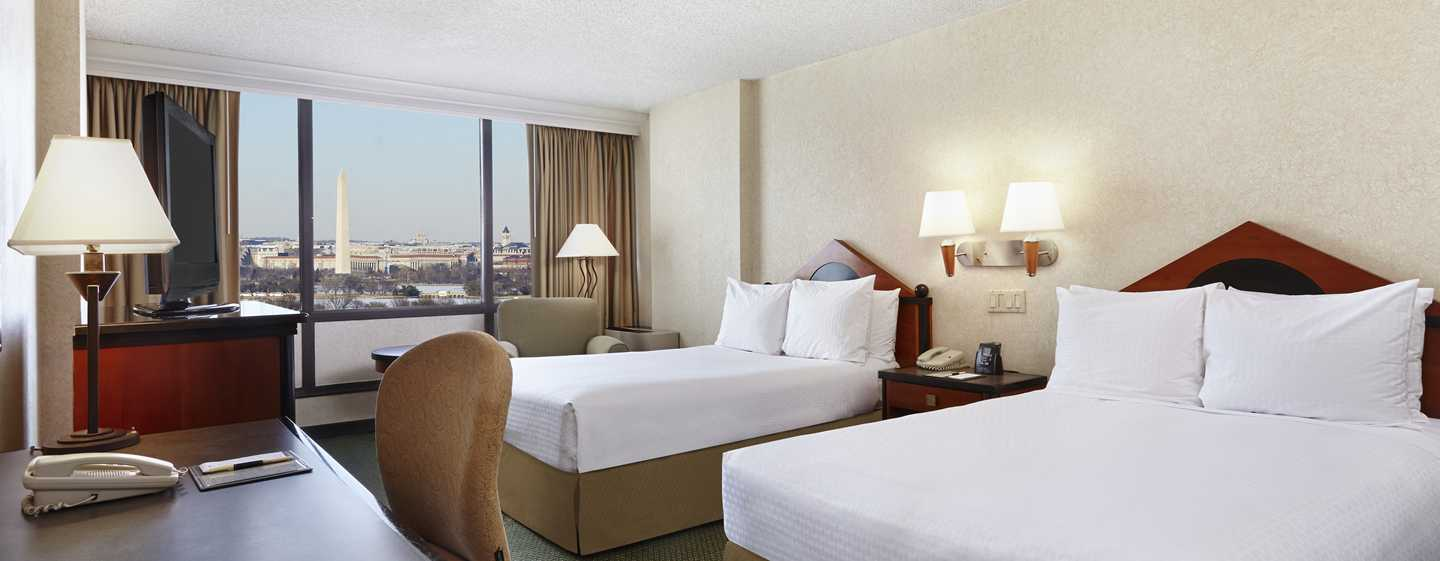 DoubleTree by Hilton Hotel Washington DC - Crystal City, VA – zwei Doppelbetten