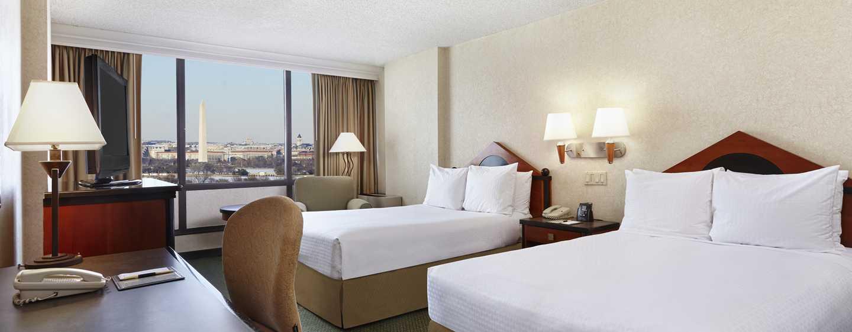 DoubleTree by Hilton Hotel Washington DC - Crystal City, VA – zwei Doppelbetten