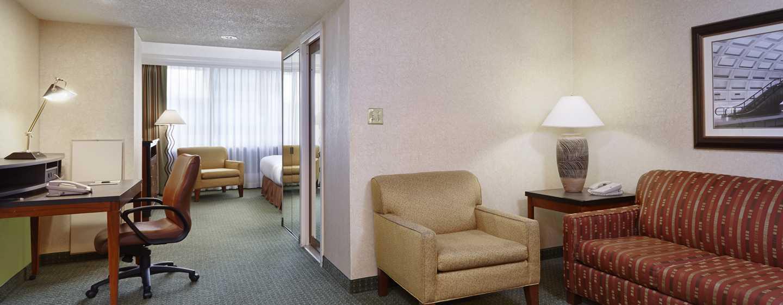 DoubleTree by Hilton Hotel Washington DC – Crystal City, VA – Junior Suite, Wohnbereich