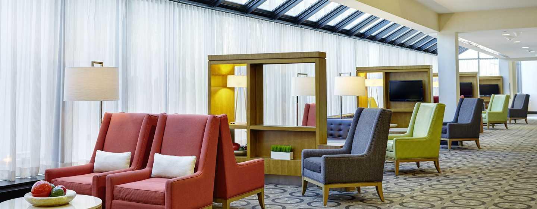 DoubleTree by Hilton Hotel Washington DC – Crystal City, VA – Sitzbereich der Lobby