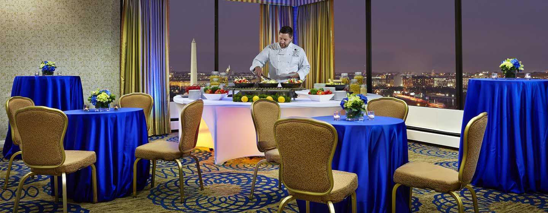 DoubleTree by Hilton Hotel Washington DC – Crystal City, VA – Potomac View Raum