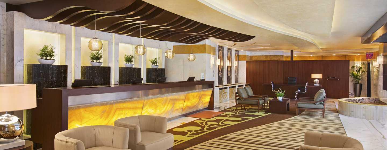 DoubleTree by Hilton Hotel and Residences Dubai – Al Barsha -hotelli, Yhdistyneet Arabiemiirikunnat – vastaanotto