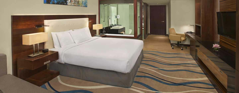 DoubleTree by Hilton Hotel and Residences Dubai – Al Barsha -hotelli, Yhdistyneet Arabiemiirikunnat – parivuoteellinen hotellihuone