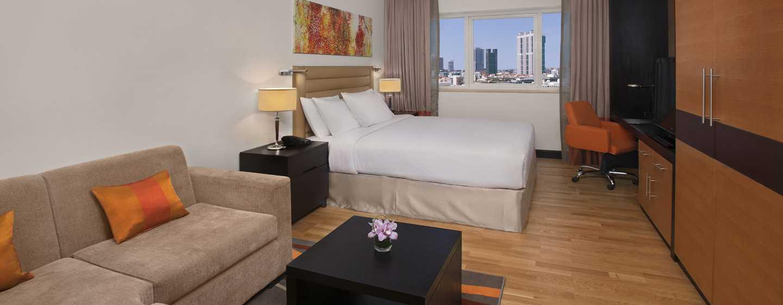 DoubleTree by Hilton Hotel and Residences Dubai – Al Barsha -hotelli, Yhdistyneet Arabiemiirikunnat – studio keittiöllä