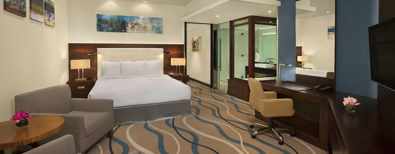 DoubleTree by Hilton Hotel and Residences Dubai – Al Barsha -hotelli, Yhdistyneet Arabiemiirikunnat – yhden makuuhuoneen sviitti, päämakuuhuone