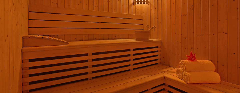 DoubleTree by Hilton Hotel and Residences Dubai – Al Barsha -hotelli, Yhdistyneet Arabiemiirikunnat – sauna