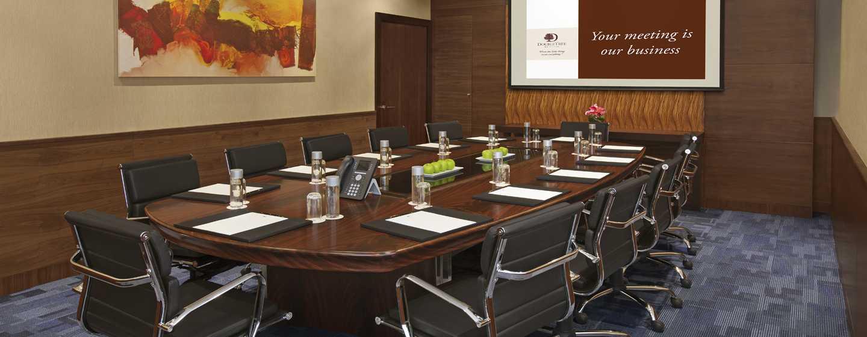 DoubleTree by Hilton Hotel and Residences Dubai – Al Barsha -hotelli, Yhdistyneet Arabiemiirikunnat – neuvotteluhuone