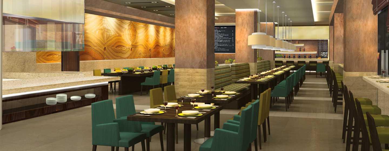 DoubleTree by Hilton Dubai -hotelli – Al Barsha Hotel and Residences Dubai -hotelli – koko päivän avoinna oleva ravintola