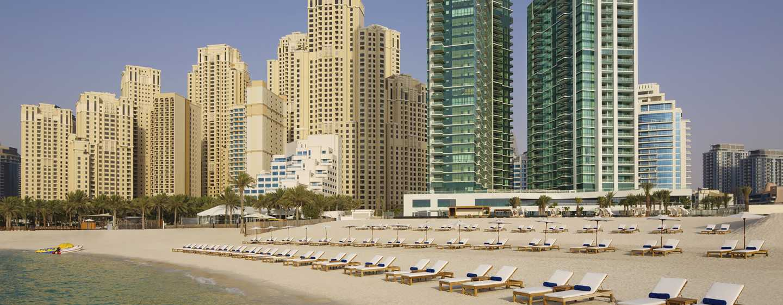 DoubleTree by Hilton Hotel Dubai Jumeirah Beach, Dubai, Förenade Arabemiraten – Hotellets fasad