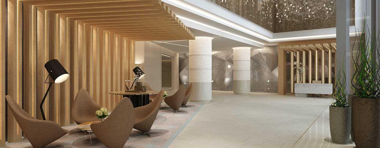 Hôtel DoubleTree by Hilton Hotel Dubai - Jumeirah Beach, Émirats arabes unis - Hall