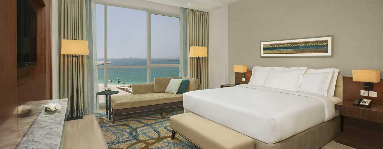 Hôtel DoubleTree by Hilton Hotel Dubai - Jumeirah Beach, Émirats arabes unis - Chambre avec très grand lit