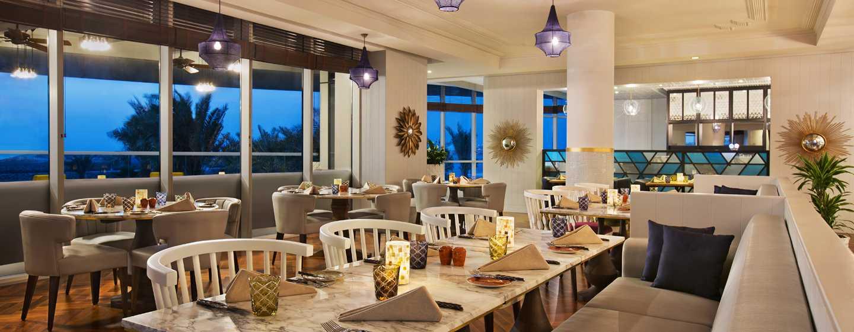 Hôtel DoubleTree by Hilton Hotel Dubai - Jumeirah Beach - Restaurant